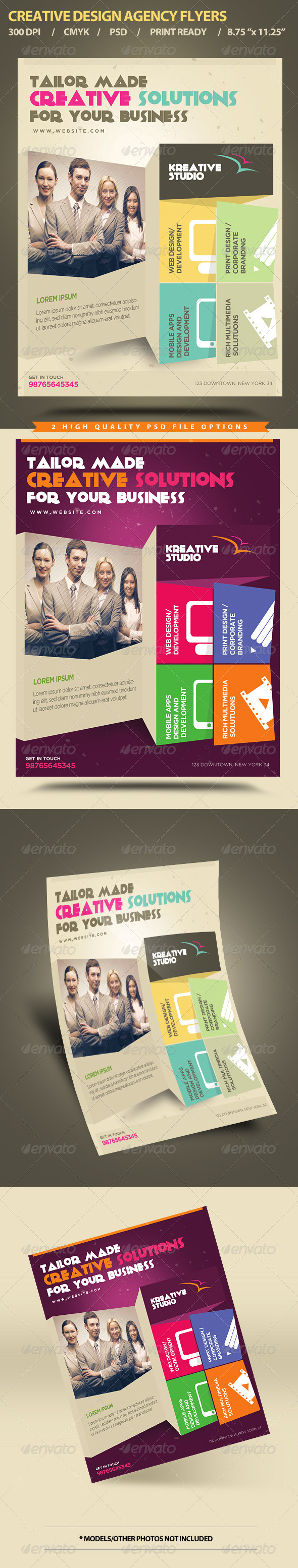 Creative Design Agency Flyers - Commerce Flyers