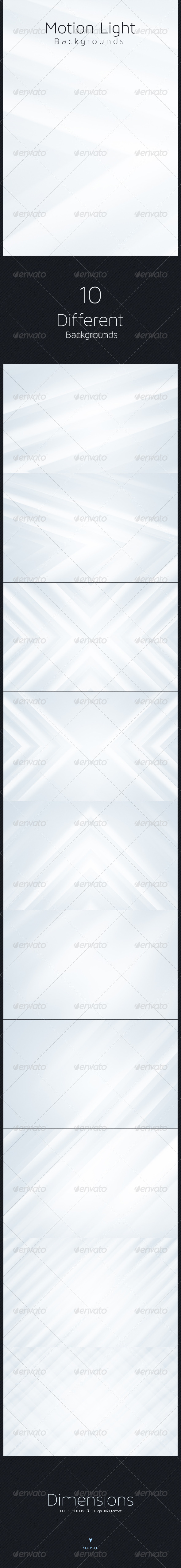 Motion Light Backgrounds - Abstract Backgrounds