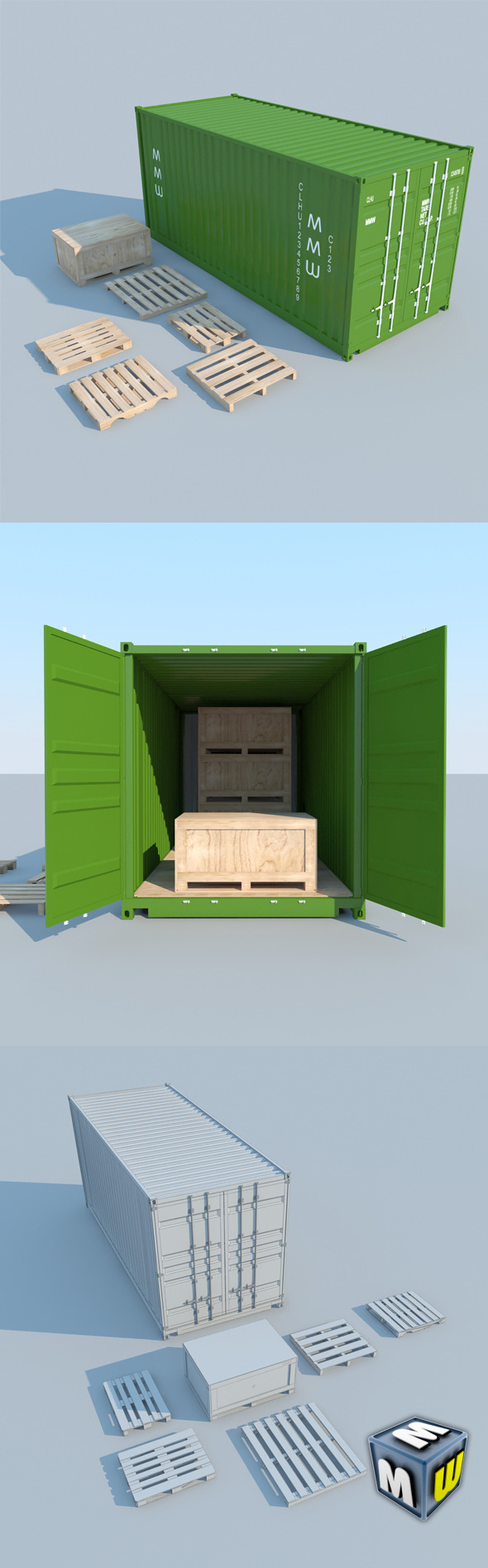 Container MAX 2011 - 3DOcean Item for Sale