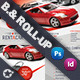 Rent A Car Billboard & Roll-Up Template - GraphicRiver Item for Sale