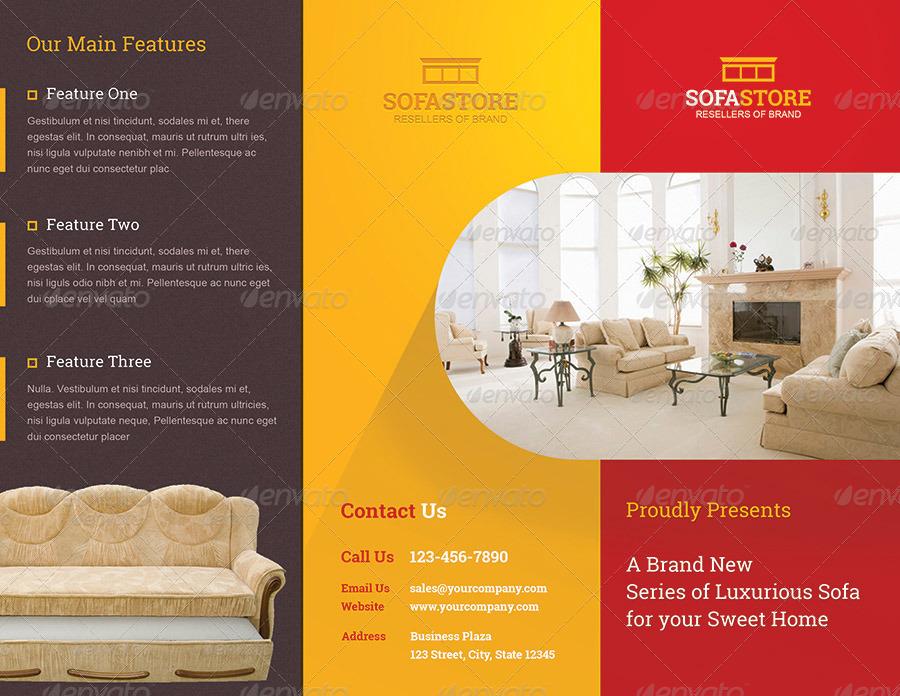 Sofastore Trifold Brochure