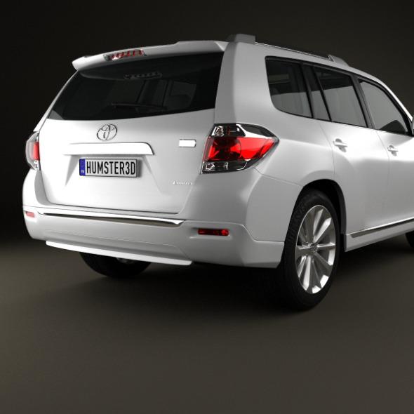 Toyota Highlander Hybrid 2011   3DOcean Item For Sale.  Toyota_Highlander_Hybrid_2011_590_0001  Toyota_Highlander_Hybrid_2011_590_0002 ...