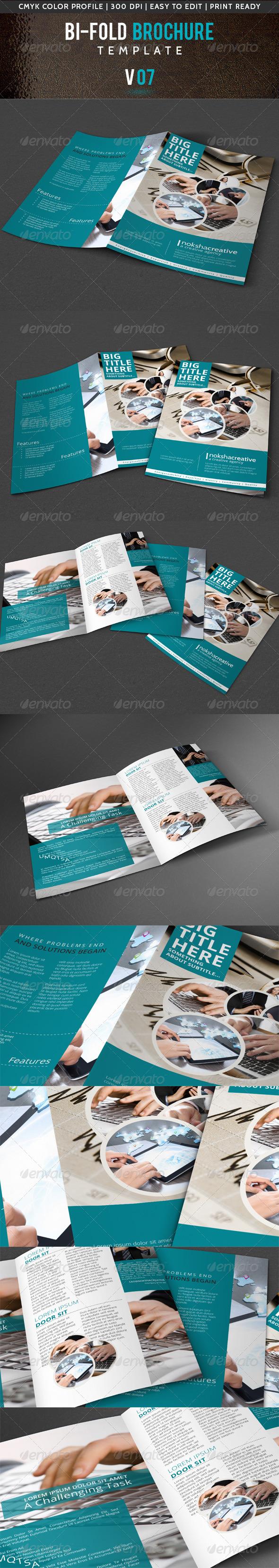 Corporate Bi-Fold Brochure V-07 - Corporate Brochures