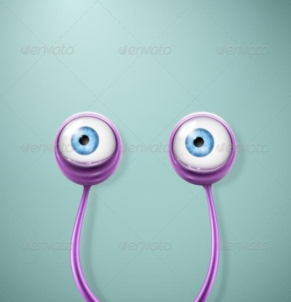 Cartoon Eyes - Monsters Characters