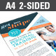 Fitness Flyer (Double Sided) - GraphicRiver Item for Sale