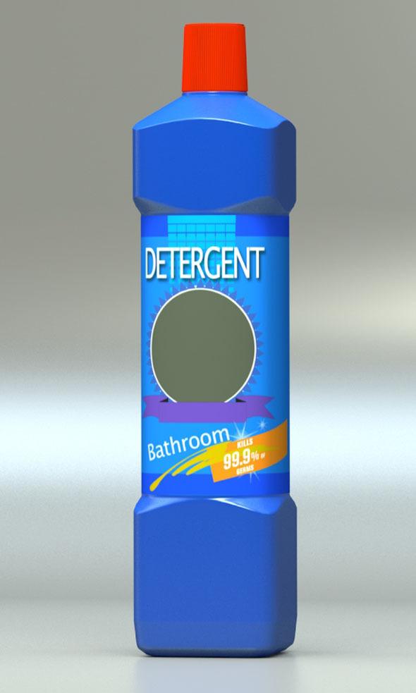 Detergent Bottle - 3DOcean Item for Sale