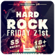 Hard Rock - Flyer - GraphicRiver Item for Sale