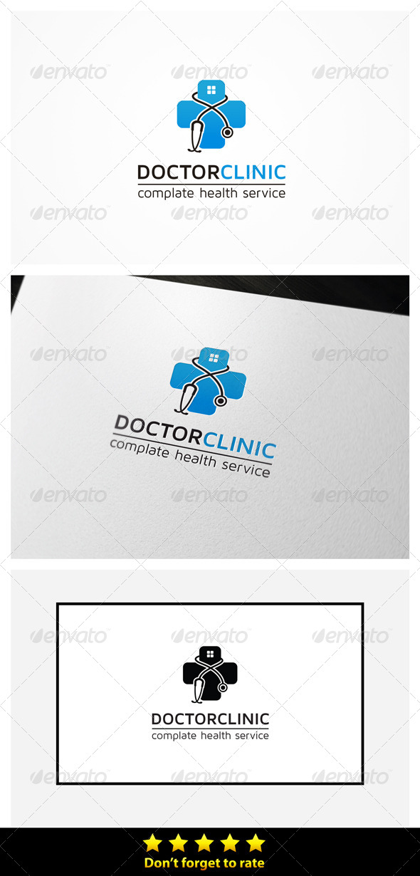 Doctor Clinic  - Symbols Logo Templates