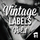 Vintage Labels - Volume 1 - GraphicRiver Item for Sale