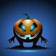 Download Vector Halloween Background with Pumpkin
