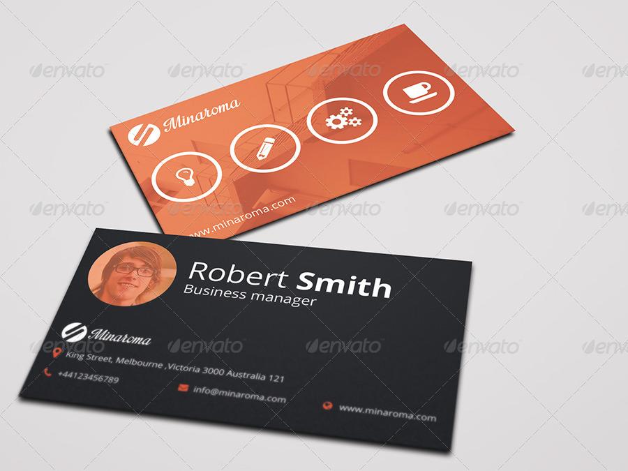 Business Card Template Vol.01