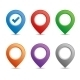Color Pin Set - GraphicRiver Item for Sale