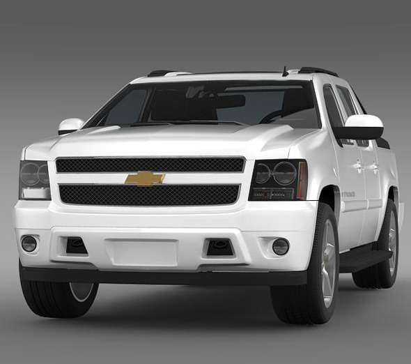 Chevrolet Avalanche LTZ - 3DOcean Item for Sale