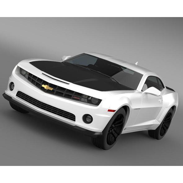 Chevrolet Camaro 1LE 2013 - 3DOcean Item for Sale