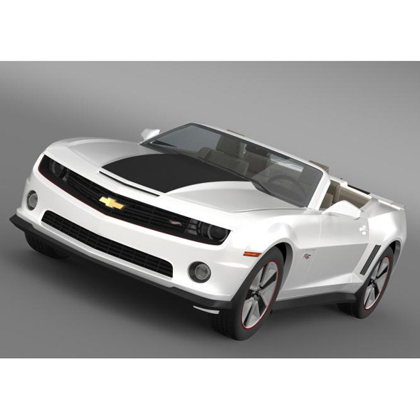 Chevrolet Camaro 2013 HotWheels SE Convertible - 3DOcean Item for Sale