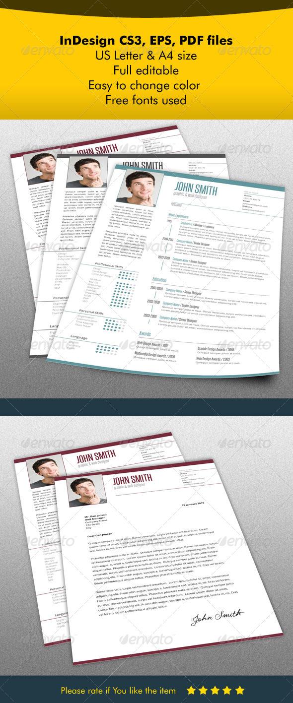 Resume & Letter Bundle - Resumes Stationery