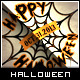 Halloween Greeting Card - Spider Web - GraphicRiver Item for Sale