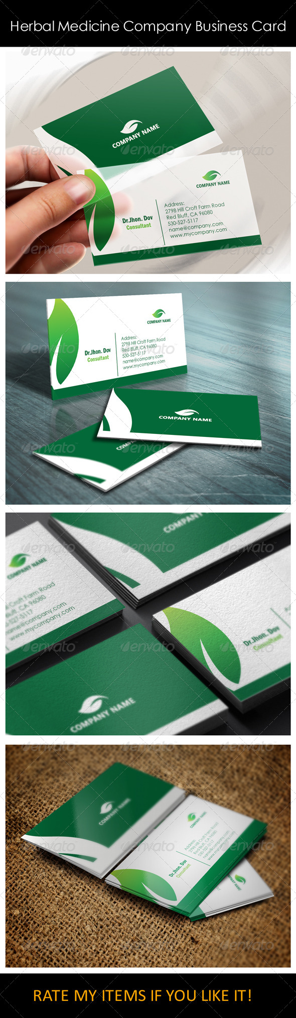 Herbal medicine company business card templates by shujaktk herbal medicine company business card templates corporate business cards cheaphphosting