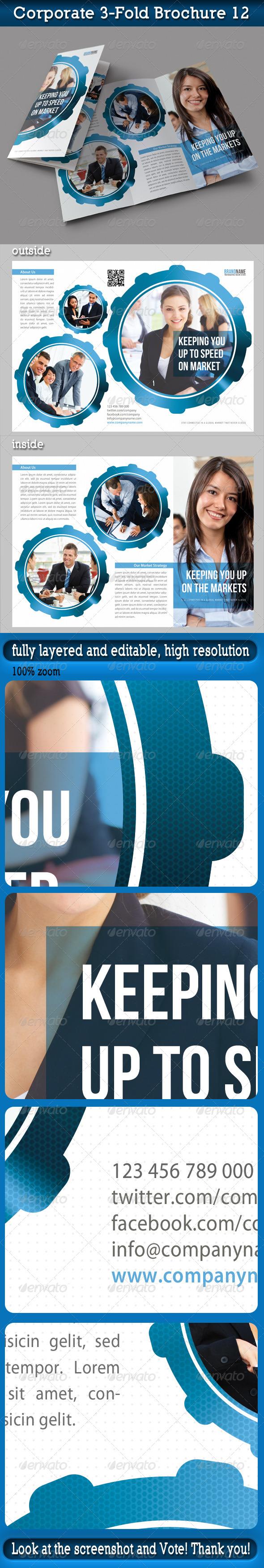 Corporate 3-Fold Brochure 12 - Corporate Brochures