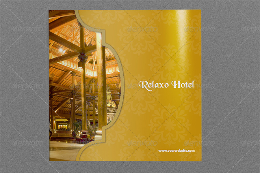 Hotel And Motel Brochure Template - 12 Pages By Owpictures