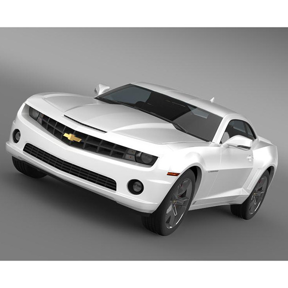 Chevrolet Camaro EUVersion 2012 - 3DOcean Item for Sale