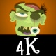 Cartoon Zombie Character Pack 1 - 4K - VideoHive Item for Sale