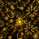 Gold Floral Heart Background - VideoHive Item for Sale