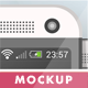 Flat Phone Mock Up - GraphicRiver Item for Sale