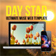 Day Star One Page Muse Template Nulled