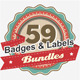Premium Retro Vintage Badges & Labels Bundle V3 - GraphicRiver Item for Sale