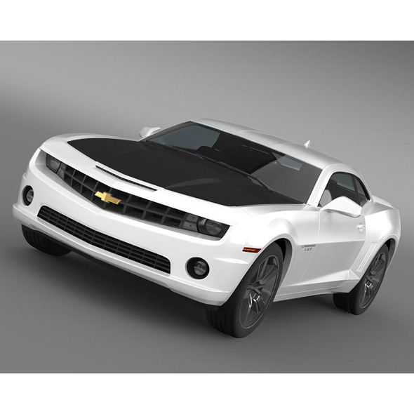 Chevrolet Camaro LS7 2008 - 3DOcean Item for Sale