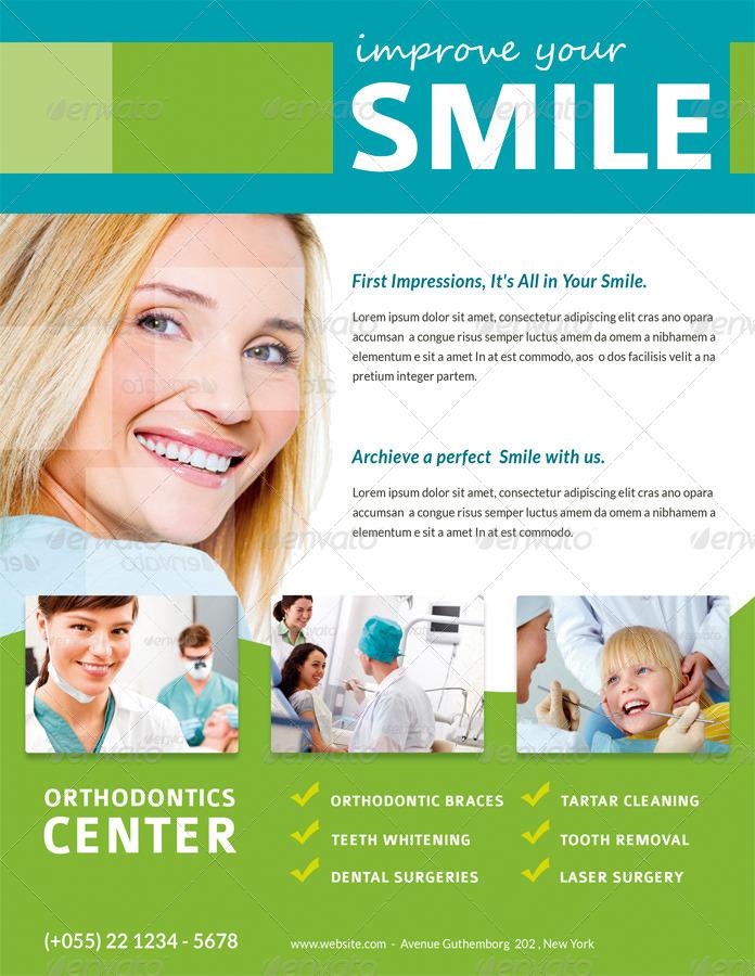 dentist flyer    magazine ad by ingridk