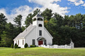 White Chapel in New England - PhotoDune Item for Sale
