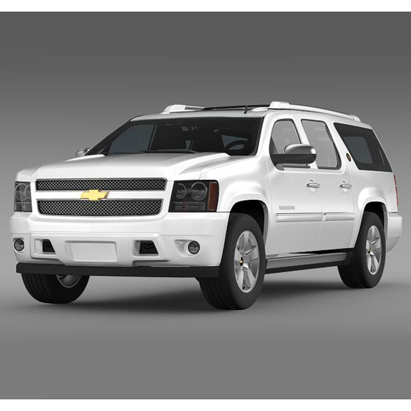 Chevrolet Suburban 75th Diamond Edition - 3DOcean Item for Sale