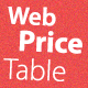 Web & Hosting Price Table - GraphicRiver Item for Sale