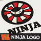 Ninja Logo Template - GraphicRiver Item for Sale
