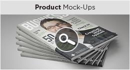 Product  Mock-ups