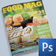 Food Magazine - GraphicRiver Item for Sale