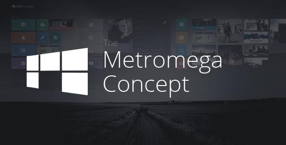 Metromega - Responsive HTML5 Metro Template - Creative Site Templates