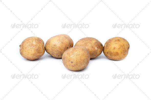 fresh potatoes - Stock Photo - Images