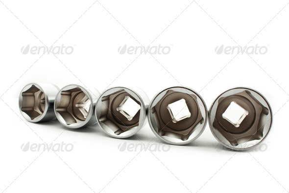 car wrenches - Stock Photo - Images
