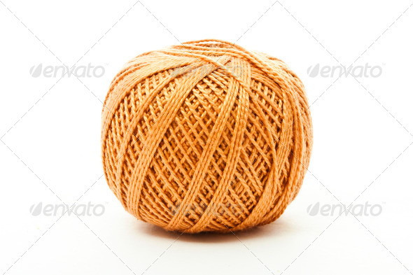 ball of thread - Stock Photo - Images
