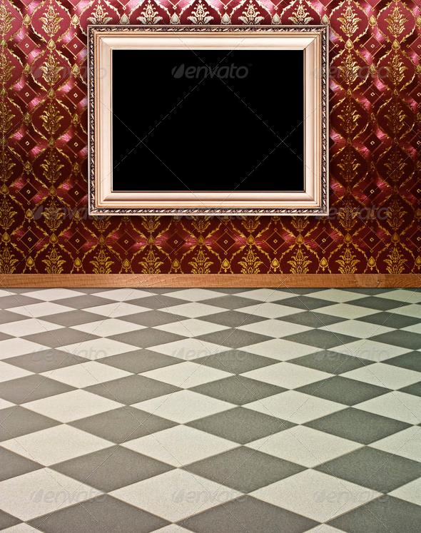 vintage interior - Stock Photo - Images