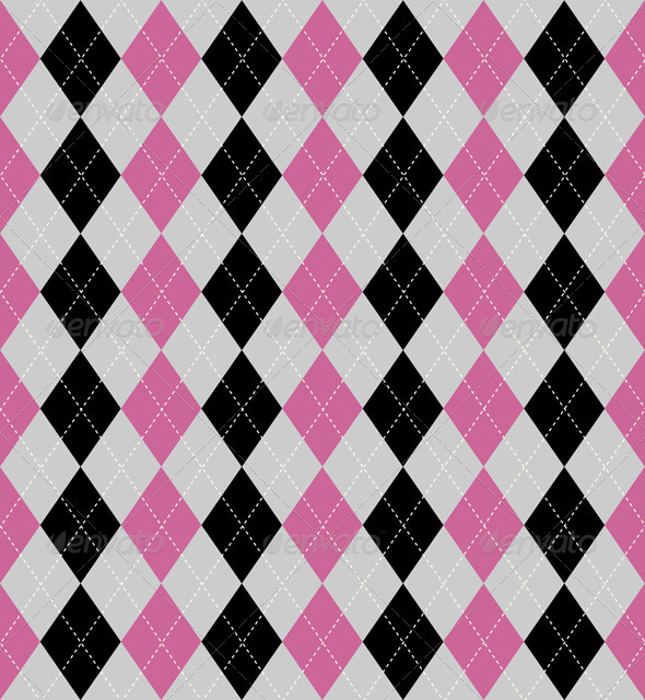 Argyle pattern - Backgrounds Decorative