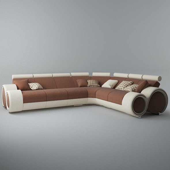 Modern Sofa 6x - 3DOcean Item for Sale