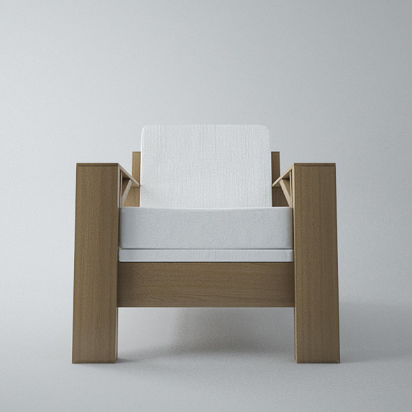 Armchair Carpenter - 3DOcean Item for Sale