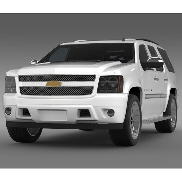 Chevrolet Tahoe XFE 2008 - 3DOcean Item for Sale