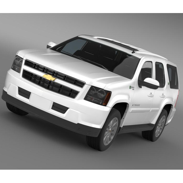 Chevrolet Tahoe Hybrid 2012 - 3DOcean Item for Sale