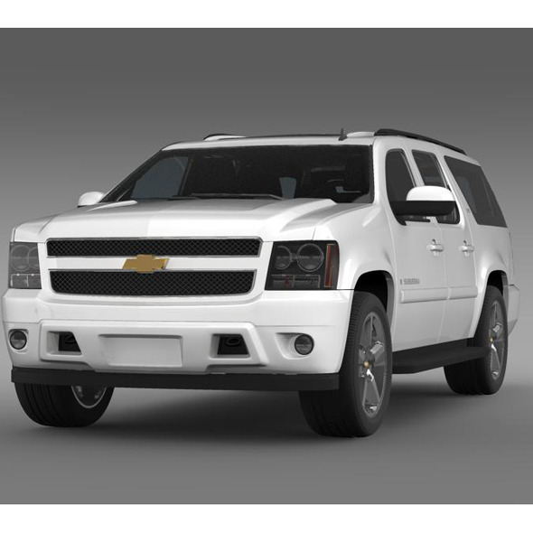 Chevrolet Suburban LTZ 2011 - 3DOcean Item for Sale