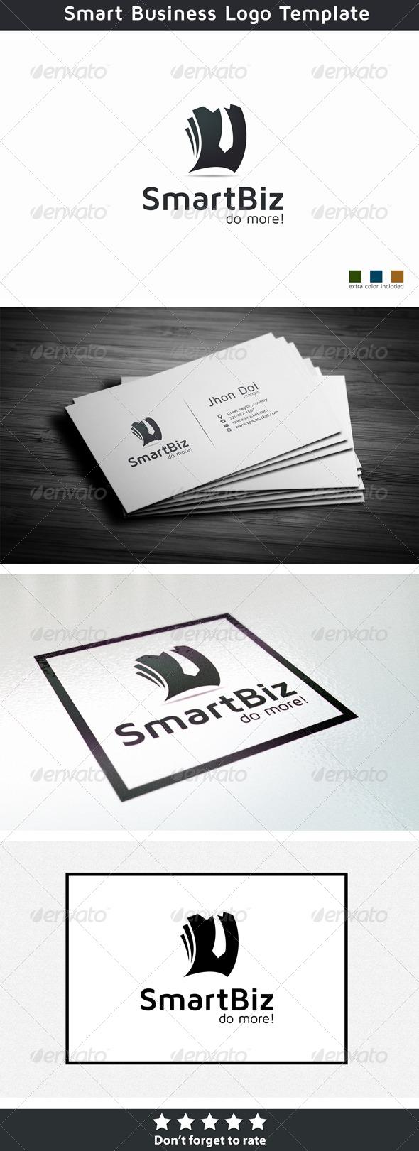 Smart business - Symbols Logo Templates